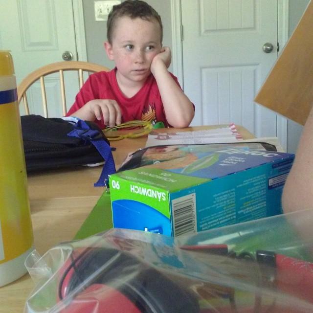 Reviewing 2nd grade school supplies
